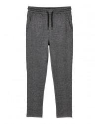 LMTD Ternet Sweatbukser Melange grå-20