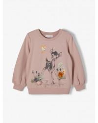 NAME IT - Sweatshirt - Nmfbambi - Desert sage/Adobe rose