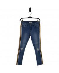 HOUND Jeans i used denim med side stripe model PAINT-20
