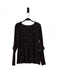 HOUND Bluse med blomstret mønster-20
