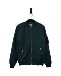 HOUND Bomber overgangsjakke med tyndt for frisk grøn-20