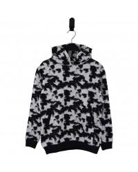 HOUND Sej hoodie i flot fashion design sort/hvid-20
