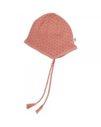 MÜSLI Knit dot hat Dark peach-20
