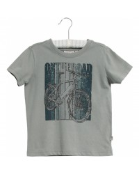 WHEAT T-shirt On The Road Lead Blue-20