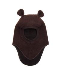 HUTTELIHUT Elefanthue Bomuld/Uld Brun-20