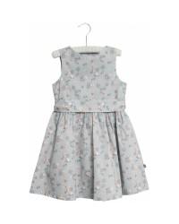 WHEAT Oda kjole Pearl blue flowers-20
