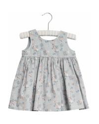 WHEAT Pinafore Wrinkles kjole Pearl blue flowers-20