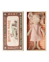MAILEG Big sister mouse in box-20