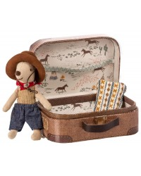 MAILEG Cowboy i en kuffert Little brother mouse-20