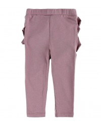 KNAST BY KRUTTER Leggings med flæser Elderberry-20