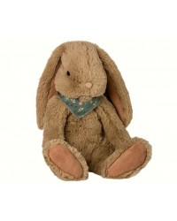MAILEG Fluffy bunny large brun-20
