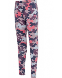 HUMMEL - Leggings - Hmlpolly - camouflage