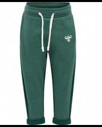 HUMMEL - Sweatpants - hmlHugo - Grøn
