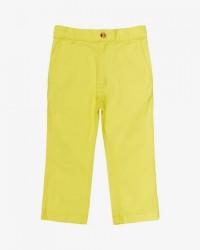 MADS NØRGAARD Fine twill pants Golden kiwi-20