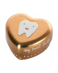 MAILEG My tooth box Guld-20