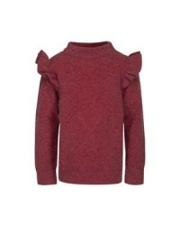 PETIT BY SOFIE SCHNOOR Knit Blouse Earth red-20