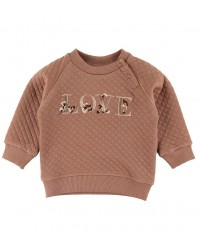 PETIT BY SOFIE SCHNOOR Sweat Emily Rosy Brown-20