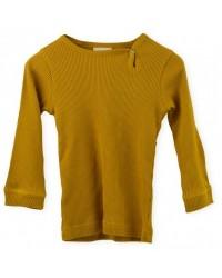 PETIT PIAO Modal L/S T-shirt Mustard-20