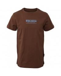 HOUND T-shirt Brun-20