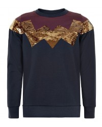 THE NEW Sweatshirt Riley Navy-20