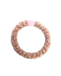 BOW´S BY STÆR Hairties Velvet multi baby pink/gold-20