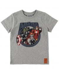 WHEAT T-shirt Marvel Melange grey-20
