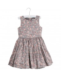 WHEAT Dress snow White drak grey-20