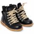 ANGULUS Vinterstøvler med lynlås og snøre sort-03