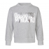 MADS NØRGAARD Sweatshirt med sølv NØRGAARD print grå melange-01